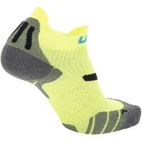 "UYN 2"" Running Socks Men, yellow fluo/black"